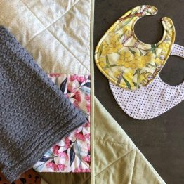 Wraps, Bibs, Blankets, Quilts